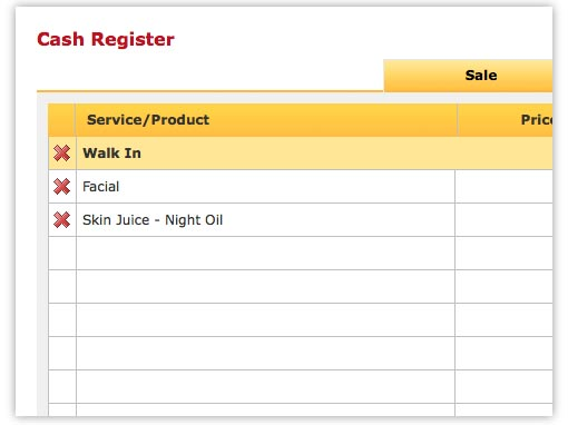Walk In Manager - Salon Software Feature