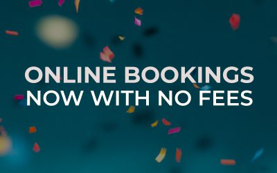 Online Bookings with NO FEES