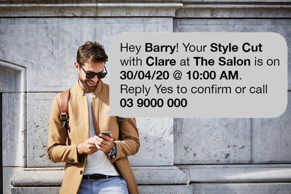 Personalised SMS Marketing using Tags